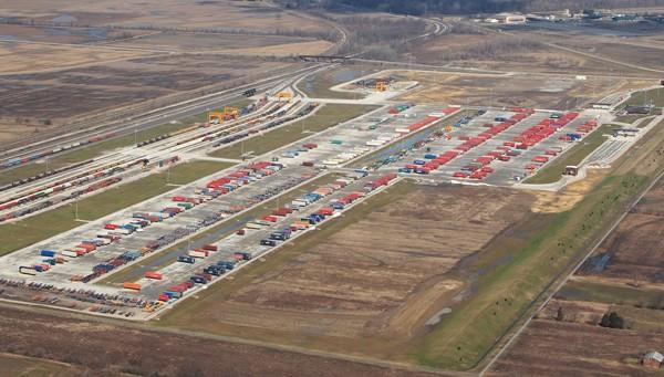 Ns Rickenbacker Intermodal Terminal Construction